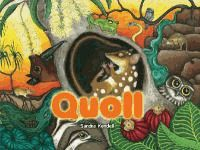 """Quoll was inspired by The Island Ark program in the Northern Territory. The program has relocated mainland Quoll populations to remote islands off Arnhem Land in an effort to protect them from the """"invasion"""" of Cane toads."""