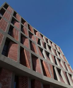 caat studio apartment complex kahrizak iran designboom