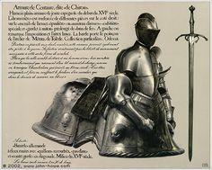 curlycurvynotquitestraight: Centaur Armour