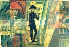 Bon voyage à l'arlequin... Eduard Alcoy Lázaro, 1955
