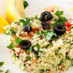 Cobb Salad, Feta, Risotto, Potato Salad, Grains, Avocado, Bbq, Rice, Potatoes