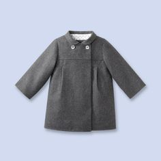 wool flannel coat ... beautiful simplicity