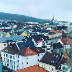 Bergen Norway's Second City and the Gateway to the Fjords. Photo by @mariannsleen on Instagram.