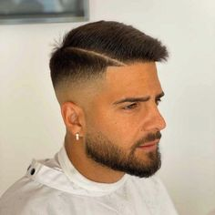 Our Ambassador Nando Pereiro.quaranta_barber starts the year with . - Our Ambassador Nando Pereiro.quaranta_barber starts the year with and with Barb - Cool Hairstyles For Men, Cool Haircuts, Latest Hairstyles, Haircuts For Men, Men's Hairstyles, Military Haircuts Men, Short Hair Cuts, Short Hair Styles, Gentleman Haircut