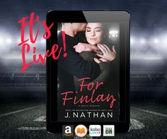 #RELEASEBLITZ For Finlay by #JNathan #NewAdult #SportsRomance #GiveMeBooksBlog #PFCR  #PFCRreview #RazzReader