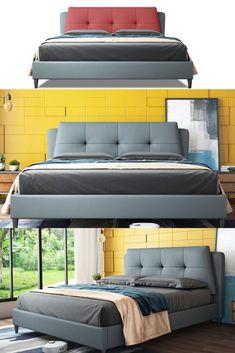 Contemporary Apartment, Contemporary Bedroom, Modern Bedroom, Elegant Bedroom Design, Small Bedroom Designs, Bedroom Apartment, Bedroom Interiors, Bed Back Design, Purple Bedrooms