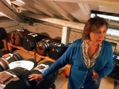 """A lady making her own aceto balsamico tradizionale, in Modena, a few kilometers from Reggio - """"Reggio Emilia: One Town, All the Best Food of Italy"""" by @Caroline Cloutier"""
