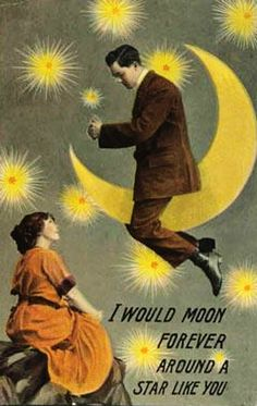 Postcard... You want the moon Mary?