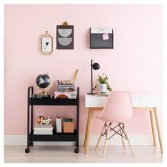 Pretty Pink Home Office #ad #homeoffice space #Homeoffice #bbmaff