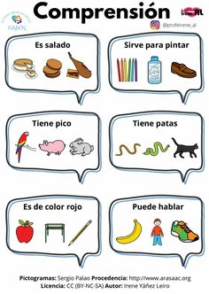 Spanish Language Learning, Teaching Spanish, Speech Language Pathology, Speech And Language, Preschool Worksheets, Preschool Activities, Indoor Games For Toddlers, Speech Therapy Activities, Music Classroom