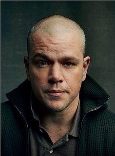 Bald is sexy! Matt Damon proves it...