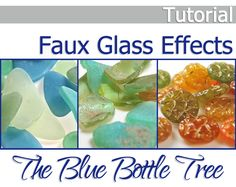 Coloring Translucent Polymer Clay with Alcohol Inks | Polymer clay ...