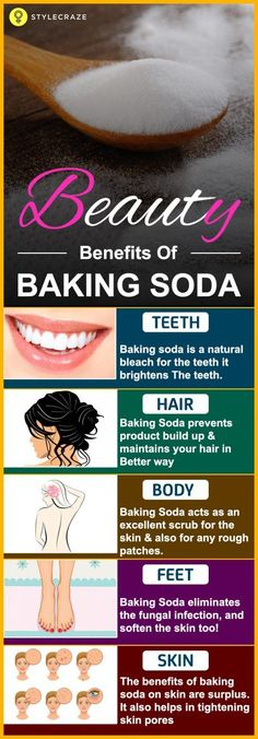 Baking soda can give you Clear skin More #Whiterteethinstantly