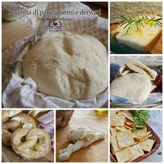 Piccola raccolta di ricette del pane e i suoi derivati, con ricetta base e ricetta della creazione della pasta madre.