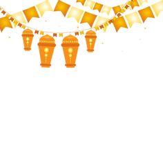 Islamic style chandelier border, Png Lamp, Ramadan Kareem, Ramadan PNG Image and Clipart
