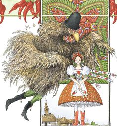"""""""The Liderc"""", by Claudine and Roland Sabatier """"He's not a man, he's a Chicken-Boo! Mythological Characters, Mythological Creatures, Eslava, Estilo Dark, Cool Monsters, Legendary Creature, Cryptozoology, Magical Creatures, Gods And Goddesses"""