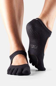 ToeSox+'Dance+Plié'+Full+Toe+Gripper+Socks+available+at+#Nordstrom
