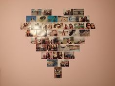 DIY: Heart Photo Collage (Macbarbie07 inspired) ♡ phoever88