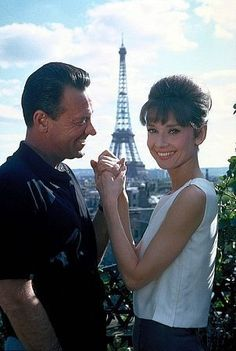Audrey Hepburn and William Holden, Paris When it Sizzles.