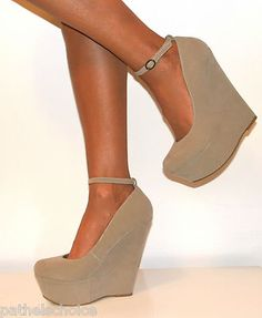 Perfect Me Nude Wedges