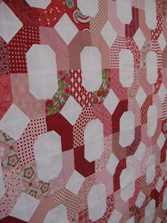 Cross Terrain Quilt  by Nedra at Cactus Needle - link within post to Moda Bake Shop Tutorial