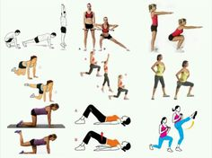 9 Exercises to Target Your Full Booty
