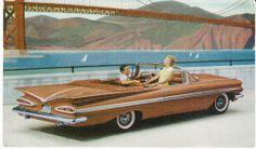 1959 Chevrolet Impala convertible 'gothic gold' color