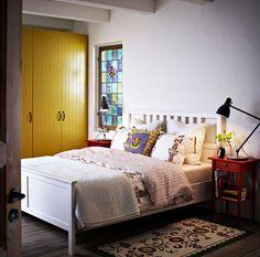 HEMNES bed frame