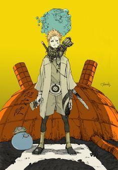 bassman5911:  Beetlebum (via Awesome Robo!: The Art of Yusuke Matsumoto)