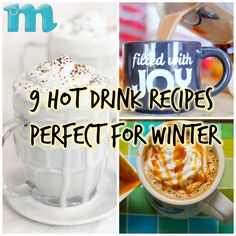 9 Hot Drink Recipes Perfect for Winter