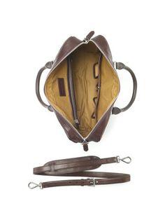 Quilted Calfskin Briefcase - Ralph Lauren New Arrivals - RalphLauren.com