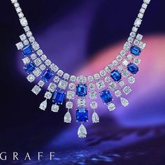 By @graffdiamonds #sapphires #diamonds #nice #necklaces #beauty #likeit #instagood #instasapphires #sapphirelovers #instajewelry #jewellery #highjewellery #insyajewels #finejewellery #diamondsareforever #diamondlovers #diamondsareagirlsbestfriend #graffdiamonds #jewelry #mm_mucevhermagazin