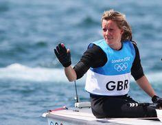Hannah Mills - Sailing. 470.