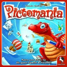 Buy Pictomania at Mighty Ape NZ. Pictomania is the new drawing game by Vlaada Chvtil (Through The Ages, Dungeon Petz)! Do you know what a zebra looks like? Can you draw it? Drawing Games Online, Online Games, Board Game Pieces, Board Games, Pegasus, Guess The Drawing, Ps4, Zebra Drawing, Dice Tower