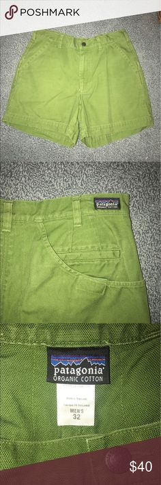 Patagonia Organic Cotton Short Shorts These shorts were worn a handful of times, and are practically brand new. Patagonia Shorts Flat Front