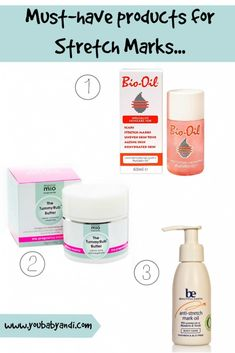 Must have products for stretch marks during pregnancy. www.youbabyandi.com