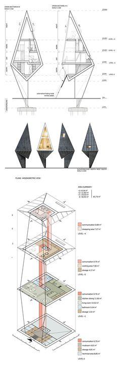Modern Eco Friendly Homes Set Amongst the Trees   DesignRulz.com