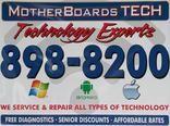 OPEN WEEKENDS! MotherBoardsTech.com FREE diagnostics on Laptop/ Desktop. Technology EXPERTS! Virus removal specialist. 912-898-8200