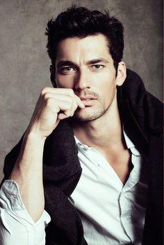 """David Gandy I die a tiny bit every time I walk by a Lucky Brand store and see his picture in the window.  """"This 32-year-old from Billericay in Essex is now said to be the world's highest-paid male model, and was the only man in the line-up of British supermodels who strutted their stuff during the closing ceremony of the London Olympics."""""""