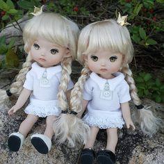 """좋아요 7개, 댓글 1개 - Instagram의 mini(@petite_jiwoo)님: """"Tanned skin #petitejiwoo #doll #resindoll #dollstagram #toy #arttoy #tiny #handmade #dollpainting…"""""""