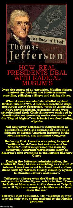 .Thomas Jefferson deals with Muslims...