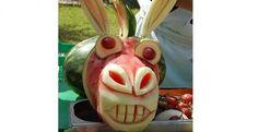 TOP 10 - Insólitas esculturas em frutas