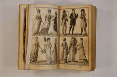 Livre (Almanac de Gotha 1804). Illustrations / Kevin Audet-Vallée 2010, © Ministère de la Culture et des Communications
