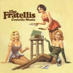 The Fratellis - Costello Music on Limited Edition Import 180g LP