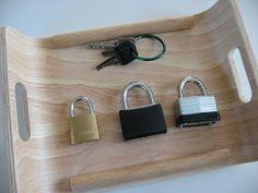 lock and key for fine motor skills