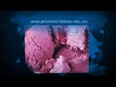 Diabetic Double Berry Ice Cream - gestational diabetes recipe