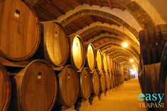 Wine cellars at Cantine Florio