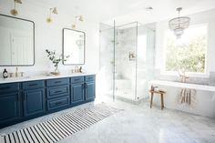 Bathroom Design Styles: Ideas and Options - Bathroom - Bathroom Decor Mid Century Modern Bathroom, Modern Bathroom Design, Bathroom Interior Design, Modern Bathrooms, Bathroom Designs, Small Bathrooms, Remodled Bathrooms, Rustic Bathrooms, Bathroom Remodel Cost
