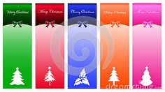 Christmas banner background with christmas tree