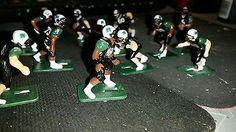 Ohio Bobcats electric football game.